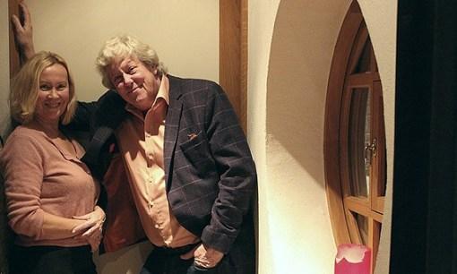 Agnetha Fältskog och Ulf Elfving. Foto: Linn Elmstedt.